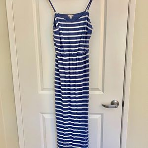 Gap striped long dress